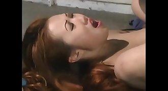 Asian D/s sucking a big black cock