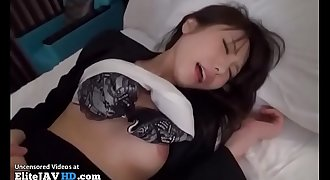 Japanese office friend fucked in hotel - More at Elitejavhd.com
