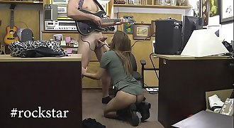 XXXPAWN - Punk Rocker Chick Needs Rapid Money, You Know How That Goes