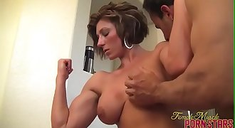 Female Bodybuilder Mistress Amazon Get Worshiped