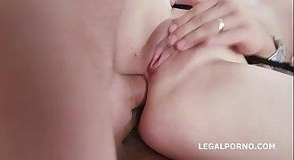 Fucking Wet With Kiara Gold Balls Deep Anal / DAP / Gapes / Pee drink / Swallow GIO618