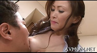 Hung tit milf rails wang